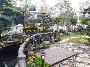 Công trình sân vườn, hồ cá Koi tại Hoa Phượng 301 Vincom