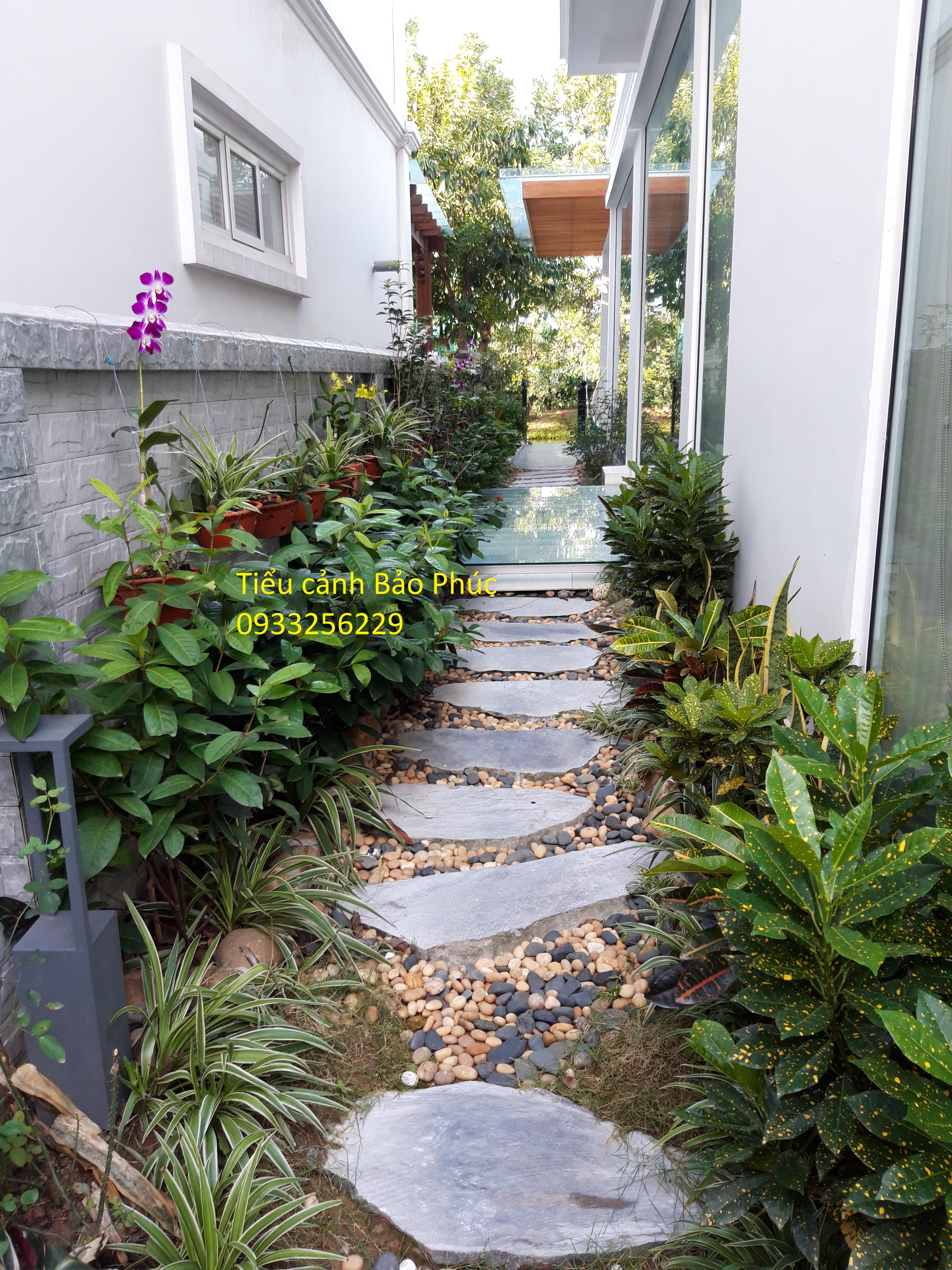 Sân vườn tại Hoa Phượng 844 Vincom Long Biên