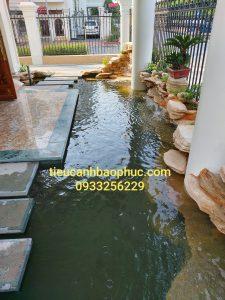Thác nước đẹp tại Việt Hưng